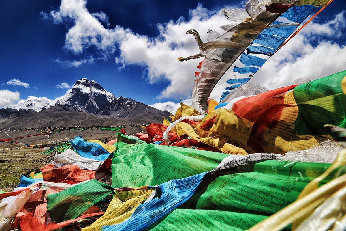 Prayer Flags | Foto von Liu Bin