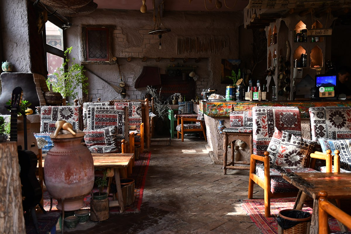 Local Restaurant in Kashgar | Foto von Liu Bin