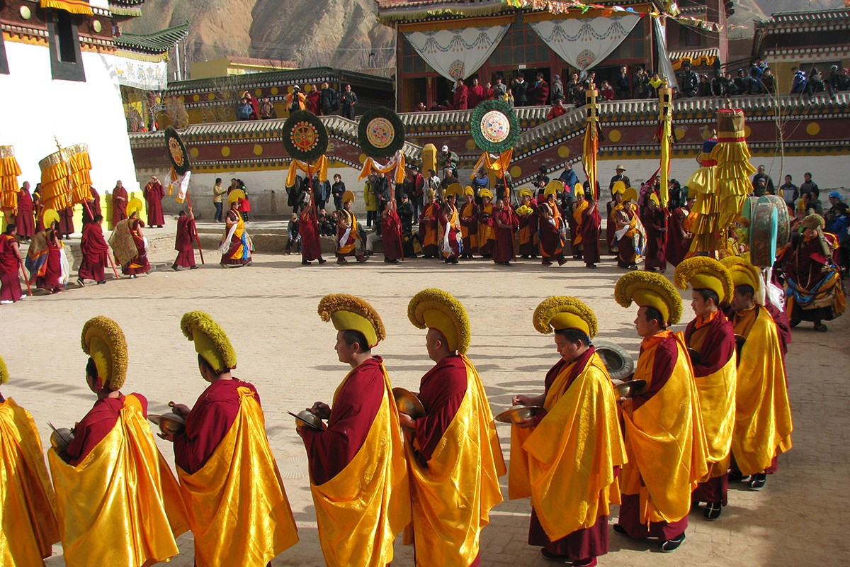 Monlam Fest (Losar) in Tongren