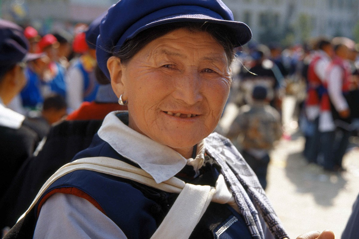 Naxi Woman in Lijiang